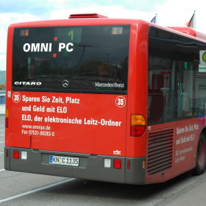 OMNI PC Bus in Konstanz